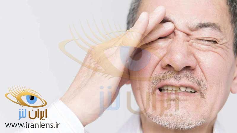 بیماری میگرن چشمی