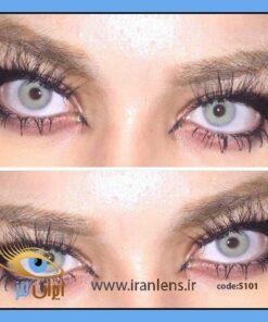 لنز رنگی گری سالانه