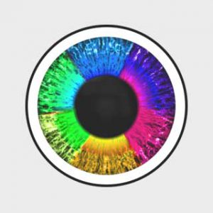 لنز رنگی