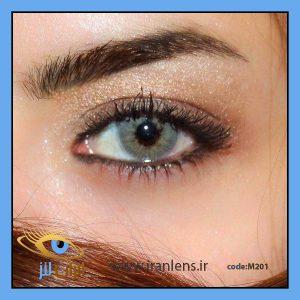 لنز رنگی طوسی خاکستری گری سالانه
