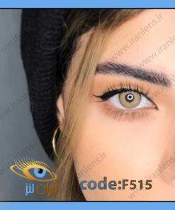 لنز چشم رنگی پرمیوم هیزل