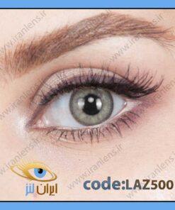 لنز طبی رنگی ازور