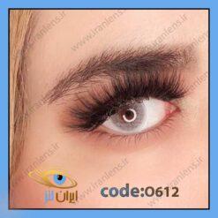لنز چشم رنگی زیبایی بدون نمره طوسی آبی بدون دور فصلی برند اپرا