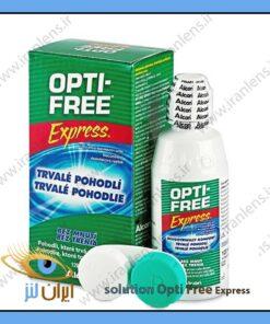 محلول لنز اپتی فری