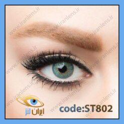 لنز طبی رنگی شیمربلو
