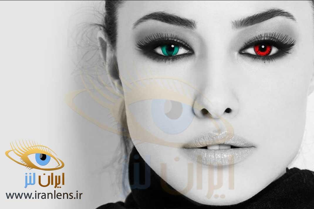 حالت طبیعی بودن لنز یکی از ویژگی های بهترین مارک لنز رنگی می باشد