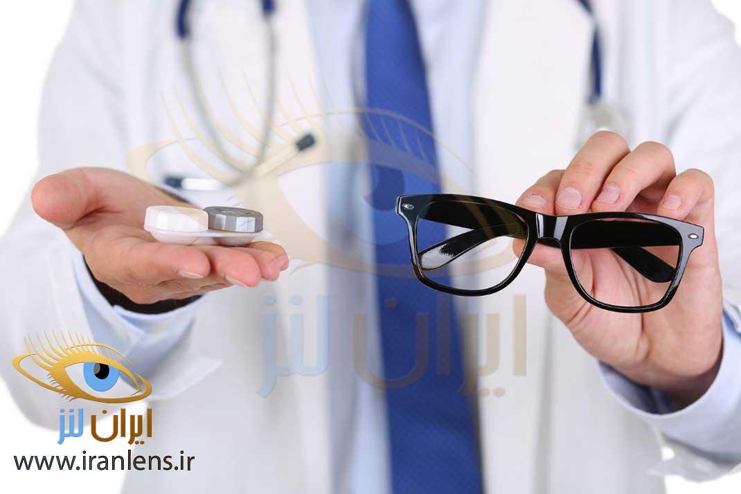 انتخاب بهترین برند لنز طبی با تجویز پزشک
