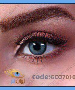لنز طبی رنگی کبالت بلو کول