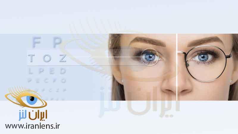 لنز چشم یا عینک