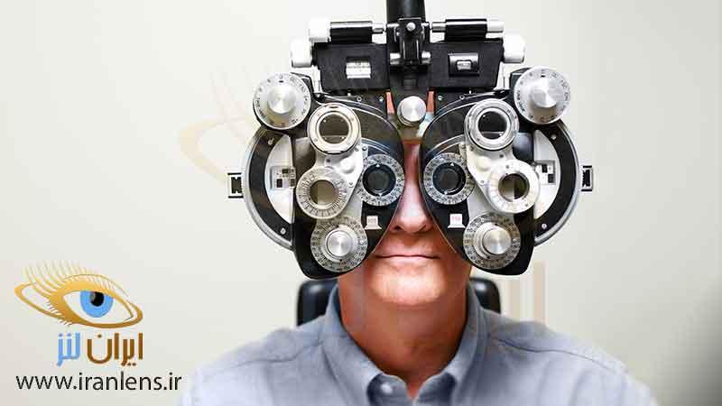 لنز چشم جایگزین عینک