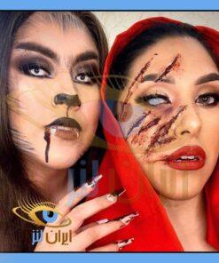 لنز رنگی فانتزی هالووین