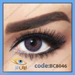 لنز چشم رنگی کانتور ویولت فصلی