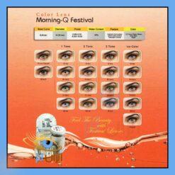 لنز طبی رنگی فستیوال سالانه