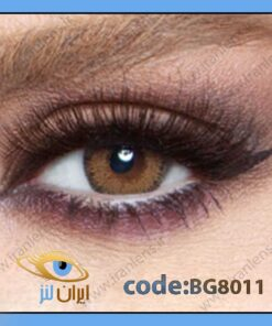 لنز طبی رنگی گلو رادیانت براون