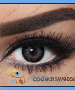 لنز چشم رنگی اسنو وایت ساتین گری فصلی