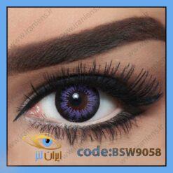 لنز چشم رنگی اسنو وایت ویولت فصلی