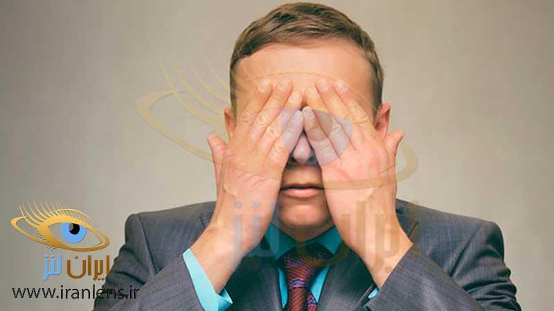 تصویر تمرین چشمی و ورزش چشمی برای رفع خستگی چشم