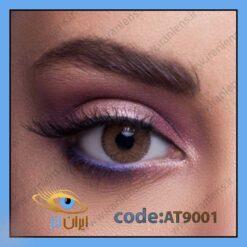 لنز چشم رنگی عسلی فصلی