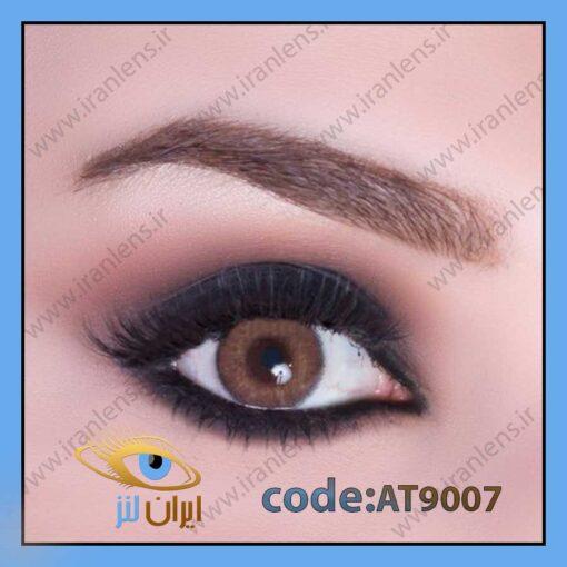 لنز چشم رنگی عسلی قهوهای ادیکت مارون فصلی