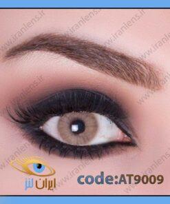لنز چشم رنگی ادیکت لورو فصلی عسلی خاکی