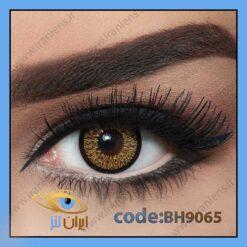 لنز چشم رنگی هایلایت کول هیزل فصلی
