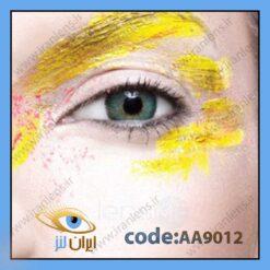 لنز چشم سبز آنستتیک آکوآ