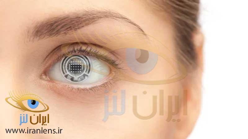 انواع لنز چشم تماسی