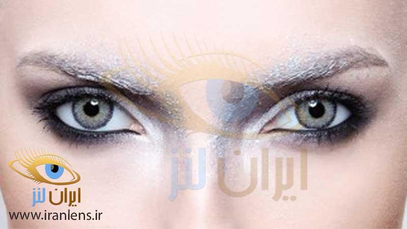 خرید لنز طوسی خاکستری از سایت ایران لنز