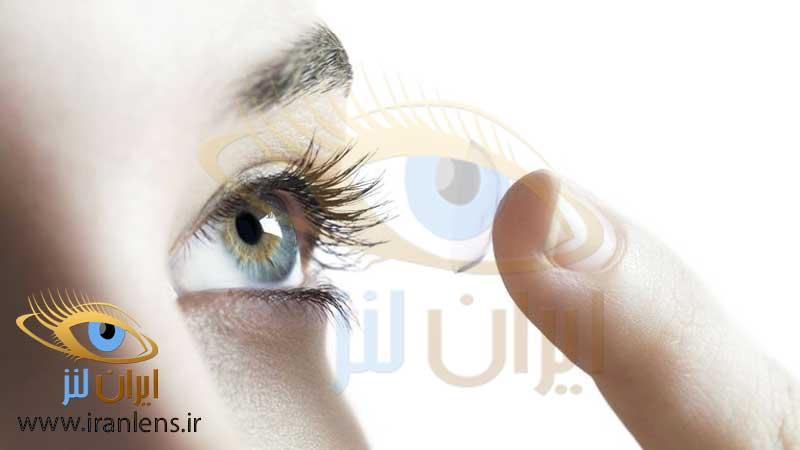 خرید لنز چشم طبی