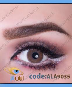 لنز چشم رنگی ال ای سینامون قهوه ای فصلی