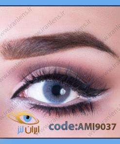 لنز چشم رنگی میامی سافایر آبی نفتی فصلی