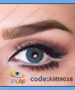 لنز چشم رنگی میامی بلو آبی اقیانوسی فصلی