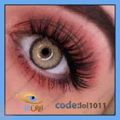 لنز چشم رنگی تروتیلا براون طوسی عسلی سالانه برند لولیتا