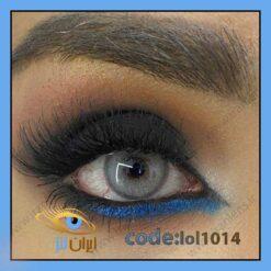 خرید لنز چشم رنگی رویال گری طوسی آبی سالانه برند لولیتا
