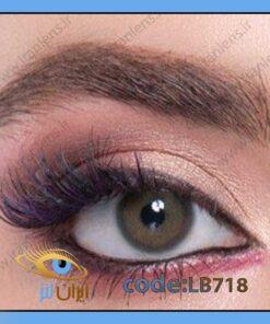 خرید لنز چشم رنگی پیکسی گرین فصلی سبز عسلی برند لابلا از فروشگاه لنز چشم ایران لنز