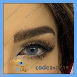 خرید لنز چشم رنگی رویال بلو سالانه آبی کلاسیک برند لولیتا از سایت ایران لنز Lol1016
