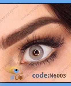 لنز چشم رنگی طوسی سبز سالانه دوردار برند نچرال