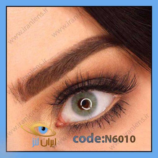 لنز چشم رنگی طوسی سبز آبی بدون دور سالانه کور زیرکون برند نچرال