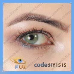 لنز چشم رنگی زیبایی طوسی سبز بدون دور سالانه لولیتا گرین برند هیپنوس