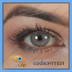 لنر چشم رنگی زیبایی بدون نمره و بدون دور طوسی آبی سالانه کلود بلو برند هیپنوس