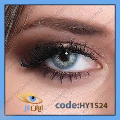 لنز چشم رنگی زیبایی بدون نمره دور تیله ای سبز آبی سالانه ازول برند هیپنوس