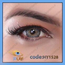 لنز چشم رنگی زیبایی بدون نمره دوردار طوسی سبز آبی سالانه افسانه برند هیپنوس