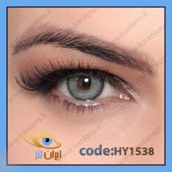 لنز چشم رنگی زیبایی بدون نمره طوسی سبز آبی دوردار سالانه آدریانا برند هیپنوس