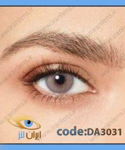 لنز چشم رنگی زیبایی طوسی نقره ای براق بدون دور فصلی سابلایم گری برند دسیو