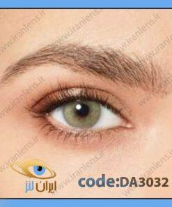 لنز چشم رنگی زیبایی سبز بدون دور فصلی لاش گرین برند دسیو
