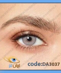 لنز چشم رنگی زیبایی طوسی نقره ای براق متوسط روشن دوردار فصلی ربل گری برند دسیو