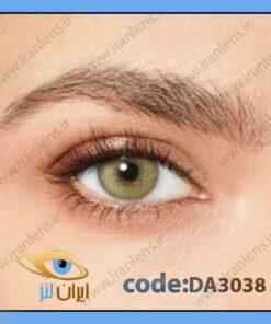 لنز چشم رنگی زیبایی سبز لایت متوسط روشن دوردار فصلی واید گرین برند دسیو
