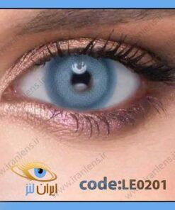 لنز چشم رنگی زیبایی بدون نمره آبی آسمانی دور تیله ای سالانه پیکسی بلو برند له روه