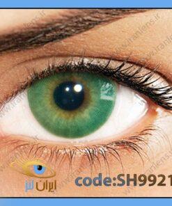 لنز چشم رنگی زیبایی بدون نمره بدون دور سبز یشمی سالانه ورده هیدروکور برند سولوتیکا