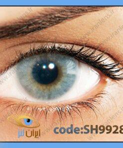 لنز چشم رنگی زیبایی بدون نمره بدون دور طوسی آبی روشن سالانه آیس هیدروکور
